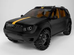 renault duster 2013 dacia duster 3d model game ready cgtrader
