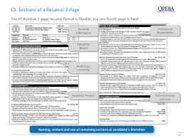 Opera Resume Template Resume Making Workshop