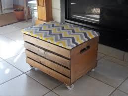 Diy Storage Ottoman Ottomans Milk Crate Ottoman Diy Diy Storage Ottoman Plans Wood