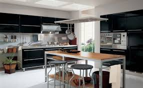 Glass Shelves For Kitchen Cabinets Riveting Kitchen Island Stainless Steel Tables With Butcher Block