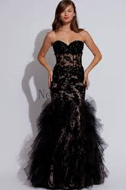 black friday prom dresses black lace prom dress mermaid naf dresses