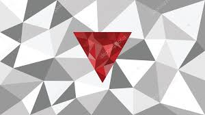 abstract shining vector geometric web background red shape in