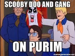 Purim Meme - scooby doo and gang on purim s doo meme generator