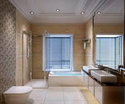 bathroom clear glass wall shower stall bathtub brown hardwood
