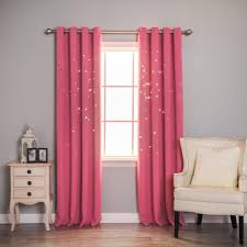 Red Eclipse Curtains Blackout Pink Curtains Doherty House Cute Pink Blackout Curtains