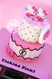 hello kitty twins baby shower cake torte per ragazze e bambine