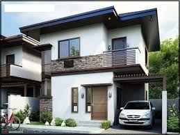 a two storey 2 or 3 bedroom home fitting in a 110 square meter