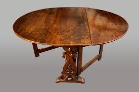 mid 17th century oak gateleg table