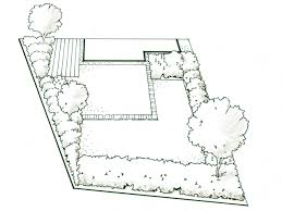 how do i draw a scale plan for my irregularly shaped yard how
