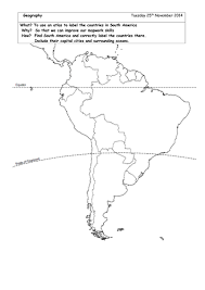 usa map ks2 locate south american countries on blank map by brads72 teaching