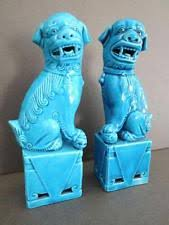 turquoise foo dogs for sale foo dogs ebay