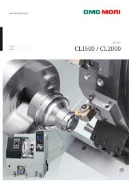 cl1500 cl2000 dmg mori pdf catalogue technical