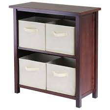 furniture excellent brown shelves decoration with cubical shape