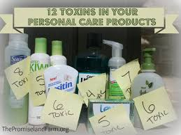 poisoning yourself u0026 your family 12 toxins in your personal care