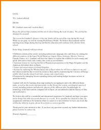 7 excuse letter sample for being absent in fancy resume