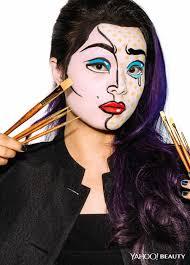 makeup artist halloween halloween beauty tutorial pop art