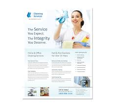 commercial cleaning brochure templates cleaning business flyer templates templates resume exles