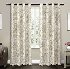 amazon com exclusive home curtains oakdale sheer grommet top
