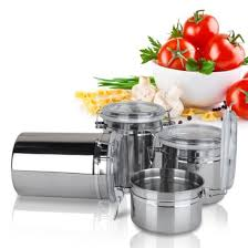 Stainless Steel Kitchen Canisters Compare Prices On Stainless Steel Canister Online Shopping Buy