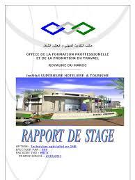 rapport de stage 3eme cuisine rapport de stage de restaurant