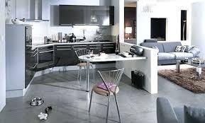 decoration salon avec cuisine ouverte idee deco cuisine ouverte sur salon deco cuisine decoration