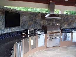 Kitchen Gallery Wall by Weber Genesis Grill In Wall Unit Gallery And Outdoor Kitchen Hood