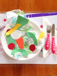 toddler craft project u2013 construction paper salad styled by jess