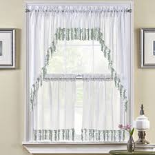 36 Inch Kitchen Curtains by Woven 36 Inch Kitchen Curtains For Window Jcpenney