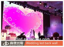 wedding backdrop led indoor smd p6 wedding stage backdrop decoration led wall buy led