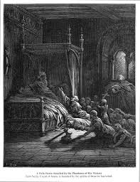 fulk fulk nerra assailed by the phantoms of his victims gustave dore