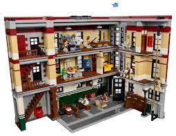 thanksgiving legos lego ghostbusters firehouse images go inside the hq collider