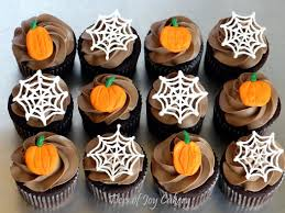Halloween Muffins Decorations Cupcakes Tiers Of Joy Cakery
