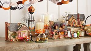 snow village halloween the skeleton house giftcollector