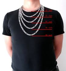 necklace length men images High quality 8 mm 18 39 39 36 39 39 inches men customize length chain jpg