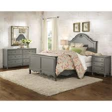 home decorators collection keys queen bed in grey 9808500270 the