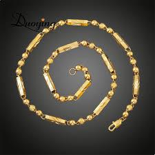 Mens Personalized Necklace European Men U0027s Gold Chain Necklace Personalized Gifts 18k Gold
