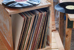 record collection stock photo image of rock retro 22671182