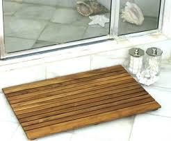 Bamboo Bathroom Rug Bamboo Bathroom Rug Jeux De Decoration