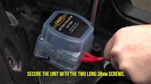 how to install the battery isolator with wiring kit quadboss