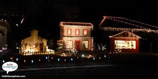 map holiday christmas light displays in georgetown texas