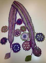 Trellis Scarf Free Staff Patterns U2013 Serial Knitters Yarn Shop