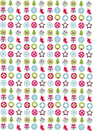 free download folksy festive motifs perfect for gift tags and