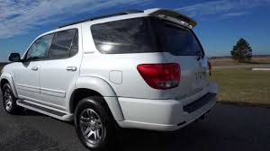 toyota sequoia 2005 toyota sequoia limited for sale leather moon captains