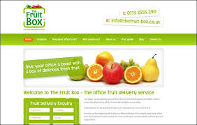 fruit delivery service visual harmony in design part 3 thematic reference sitepoint