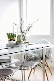 chaises s jour chaise transparente ikea pour la salle de sejour pinteres