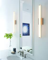 bathroom lighting ideas tips for better bath finn led bath bar tech lighting