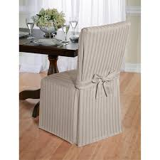 Dining Chair Slipcovers With Arms Cotton Herringbone Dining Chair Slipcover Free Shipping On