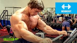 how to train for mass arnold schwarzenegger u0027s blueprint training