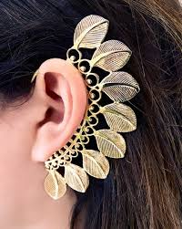 how to make feather ear cuffs these ear cuffs will make you rethink your earrings viva glam