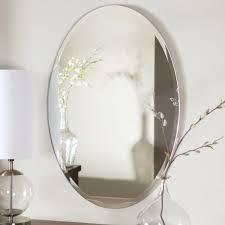 Oval Mirrors For Bathroom Mirror Design Ideas Pretty Frame Oval Bathroom Mirror Interior